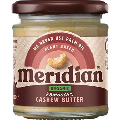 Meridian | Cashew Butter Smooth Organic | 2 x 6 x 170g (UK) from Meridian Foods