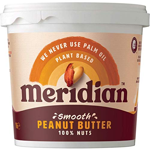 Meridian Natural Peanut Butter Smooth No Salt 1kg from Meridian