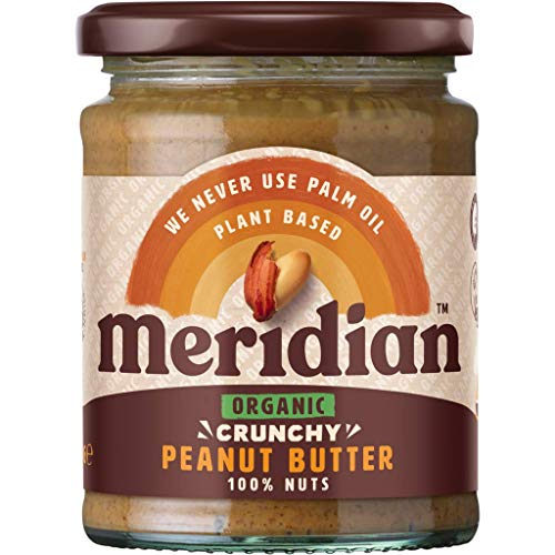 Meridian Organic Peanut Butter Smooth No Salt 280g from Meridian