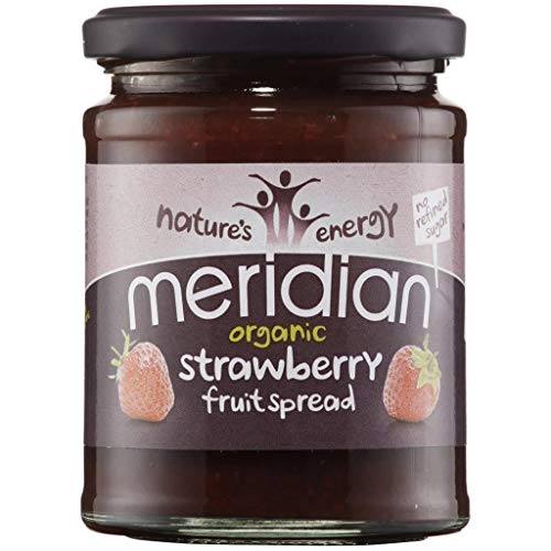 Meridian | Strawberry Spread - organic | 5 x 284g from Meridian Foods
