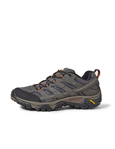 Merrell Men's Moab 2 GTX Low Rise Hiking Boots, Grey (Beluga), 10.5 UK from Merrell
