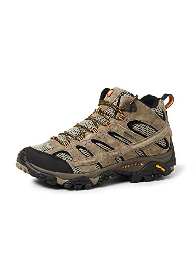 Merrell Men's Moab 2 Ltr Mid Gtx High Rise Hiking Boots, Brown Pecan, 8 UK from Merrell