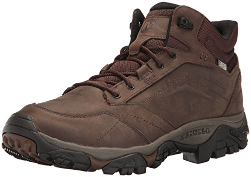 Merrell Men's Moab Adventure Low Rise Hiking Boots, Brown (Dark Earth), 8 UK (42 EU) from Merrell