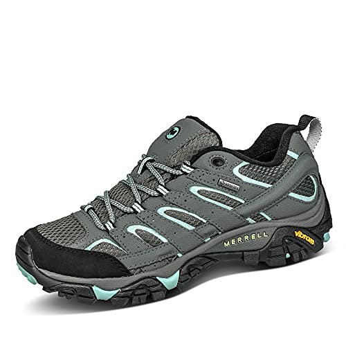 Merrell Women's Moab 2 Gtx Low Rise Hiking Shoes, Grey Sedona Sage, 7.5 UK from Merrell