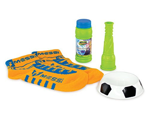 Messi Footbubbles Starter Pack with Socks (Orange) from Messi