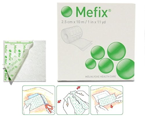 Mefix Permeable Apertured Synthetic Adhesive Tape from Metropharm