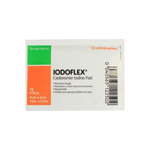 Metropharm 731547.0 Iodoflex Sachet Paste With Removable Gauze (Pack of 5) from Metropharm