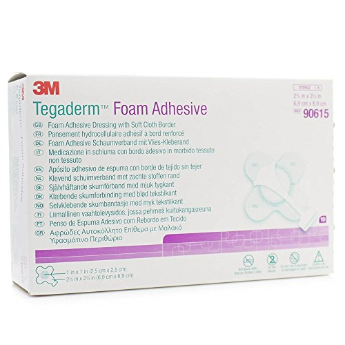 Tegaderm F/Adhesive, 90615, 6.9 cm² (Pack of 10) from Metropharm