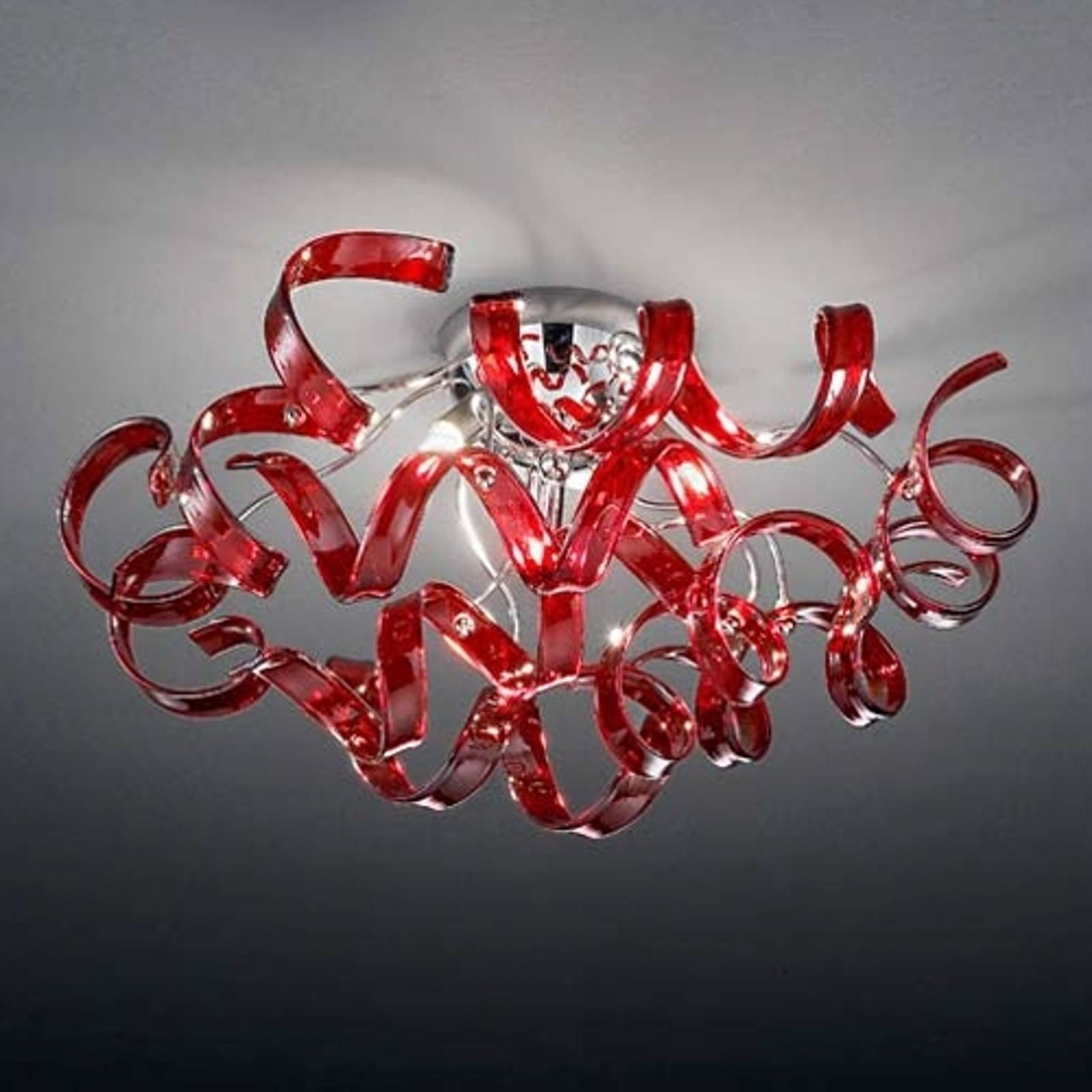 Pretty ceiling light Cherry 50 cm diameter from Mettallux