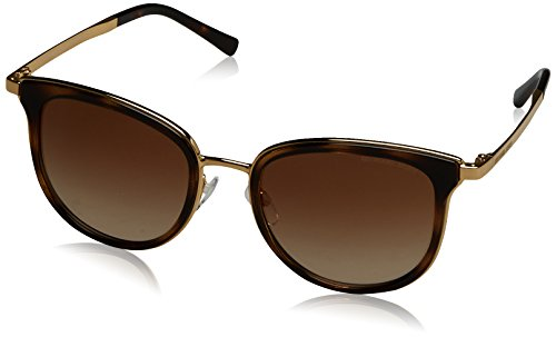 Michael Kors Women's ADRIANNA I 110113 54 Sunglasses, Dark Tortoise/Gold/Browngradient from Michael Kors