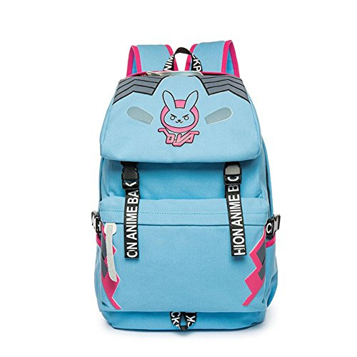 Micosplay Overwatch Schoolbag School Bag Student Travel Backpack Gift DVA from Micosplay