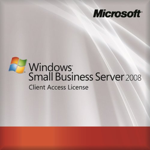 Microsoft OEM Small Business Server 2008 Standard - 5 User CAL (Licence  Only) from Microsoft