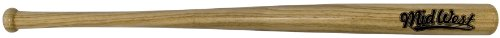 Midwest Kids Slugger Wood Bat - Brown, 28 inch from Midwest