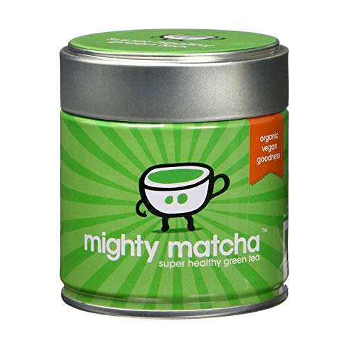 Mighty Matcha Organic Ceremonial Grade Matcha Green Tea Powder | Great Taste Winner 2012 | Single Source First Harvest | Certified GB-ORG-05 EU Organic | Energy Boost, Detox, Weight Loss | from Mighty Matcha