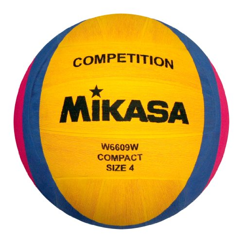 Mikasa 1212 W6609W Water Polo Ball Yellow / Blue / Pink from Mikasa