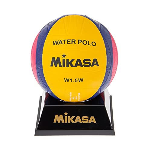 MIKASA Uni w1.5 W Mini Water Polo Waterpolo Ball - Yellow/Purple/Magenta from MIKASA