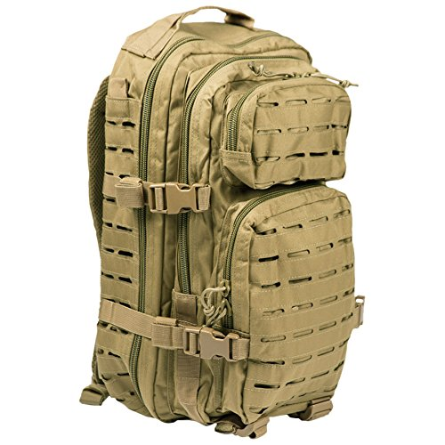 eb22d6cc29 Mil-Tec US Assault 20L laser-cut coyote-coloured backpack. from Mil