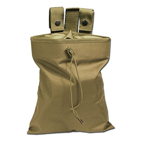 Mil-Tec Empty Shell Pouch, Coyote Brown, 30 x 23 x 5.5 cm from Mil-Tec