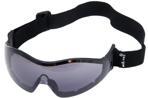 Skydiving Commando Tactical Goggles Anti-Fog Smoke Lens from Mil-Tec