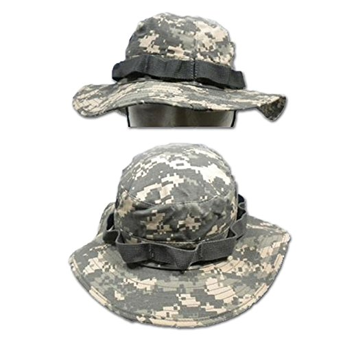 e1001fd0550 Us Army Style AT-Digital Camouflage Jungle Boonie Bucket Hat (Small) from  Mil