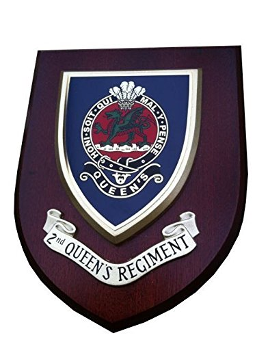 2nd BN The Queens Regiment Military Wall Plaque from Military