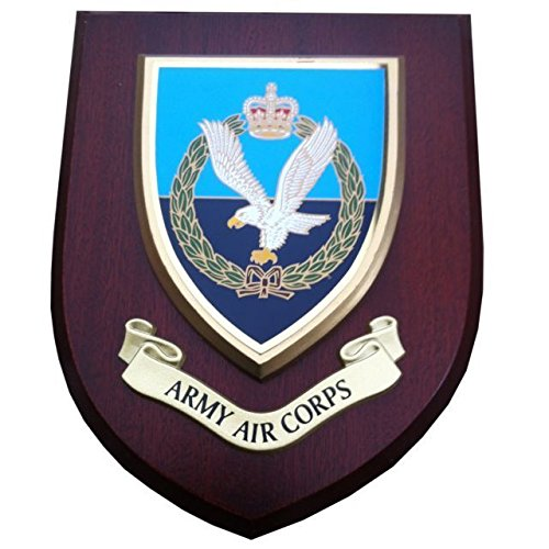 AAC Army Air Corps Wall Plaque Regimental Military Mess Shield from Military
