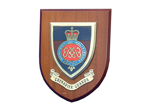 Grenadier Guards Wall Plaque Regimental Military Mess Shield from Military