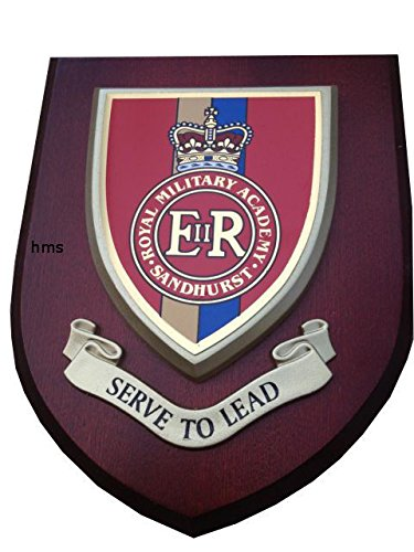 Royal Military Academy Sandhurst Wall Plaque Regimental Mess Shield from Military