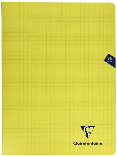 Clairefontaine Mimesys Stapled Notebook. A4+, Séyès ruled, 96 pages - Yellow from Clairefontaine