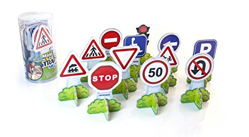 Miniland Miniland27461 Minimobil Europe Traffic Signs Set (12-Piece) from Miniland