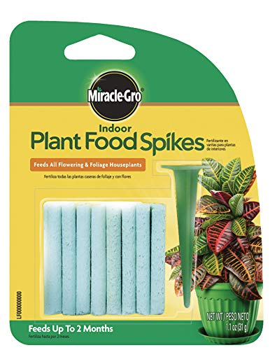 Miracle-Gro Indoor Plant Food Spikes, 1.1-Ounce from Miracle-Gro