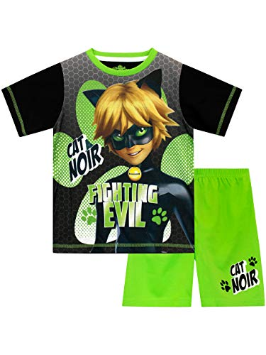 d00fb1a0ae0c Miraculous Boys Cat Noir Pyjamas Green Age 4 to 5 Years from Miraculous