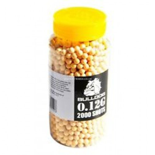 Bulldog BB Pellets 2000 Yellow x 6mm .12g BB from Misha