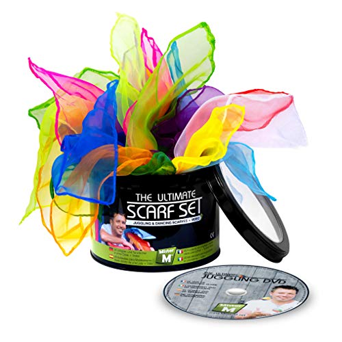 "Mister M ✓ 10 Scarves ✓ DVD ✓ Gift Box - CE Tested - ""The Ultimate Scarf Set"" by from Mister M"