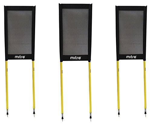 Mitre A9213 Free Kick Dummies, Black (Set of 3) from Mitre