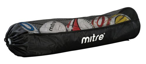 Mitre Tubular Football Bag, Black, 5 Balls from Mitre