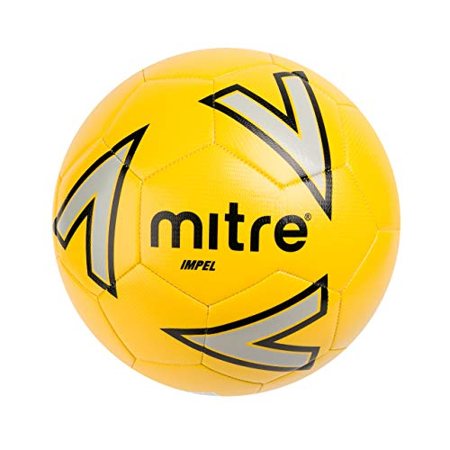 Mitre Impel Training Football Without Ball Pump, Yellow, Size 5 from Mitre