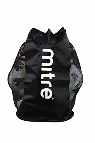 New Football Sports Soccer Balls Storage Bag Holdall H2423 Mesh Ball Sack from Mitre