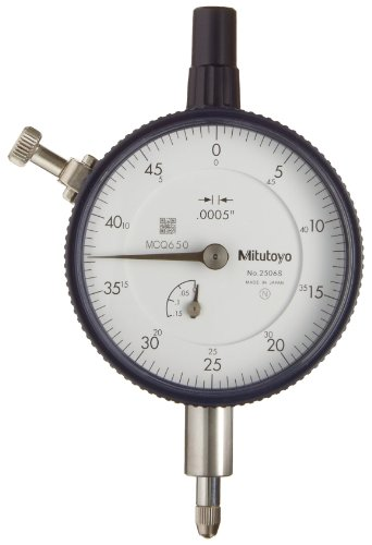 "Mitutoyo 2506SB Dial Indicators, Series 2-Standard Type, Inch Reading, 0.125""/0.05"" from Mitutoyo"