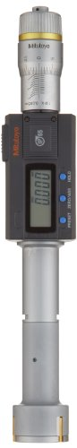 Mitutoyo 468-167 Digimatic Holtest LCD Inside Micrometer, Three-Point, 25-30mm Range, 0.001mm Graduation, +/-0.003mm Accuracy from Mitutoyo