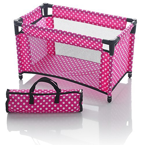 Molly Dolly Dolls Travel Cot Bed from Molly Dolly
