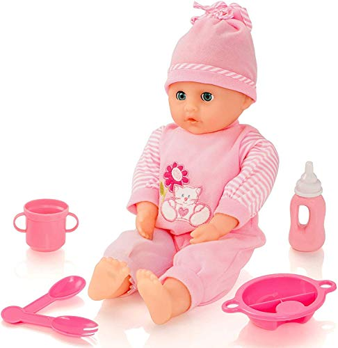 Molly Dolly Sweet Sounds Talking Girl Baby Doll & Accessories from Molly Dolly