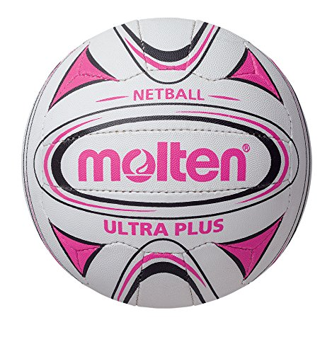 Molten Pink/Black Club and School Netball, Size 4 from Molten