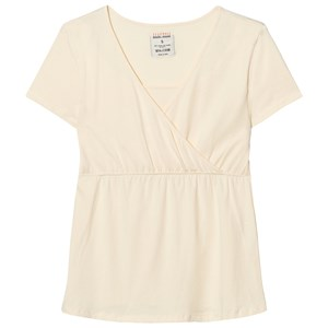 Mom2Mom Cream Glow Short Sleeve Tee S from Mom2Mom