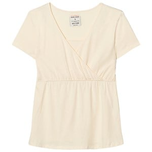 Mom2Mom Cream Glow Short Sleeve Tee XS from Mom2Mom