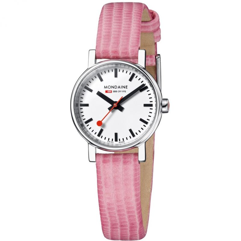 Ladies Mondaine Swiss Railways Evo Petite Watch from Mondaine