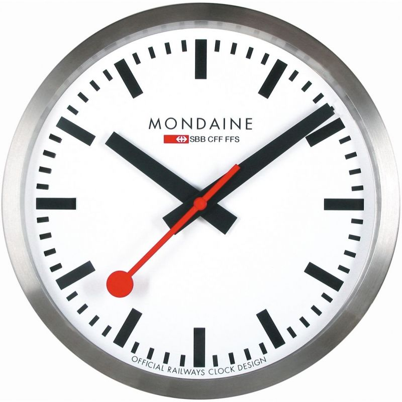 Mondaine Swiss Railways Large Wall clock Watch from Mondaine