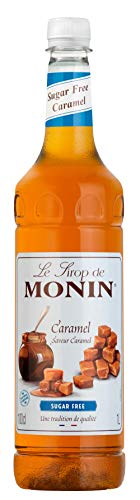 Monin Premium Caramel Sugar Free Syrup 1 L from Monin