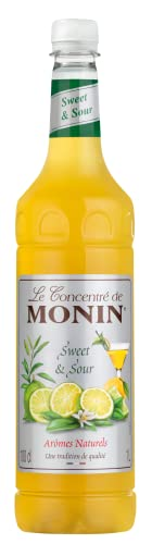 Monin Premium Sweet and Sour Syrup 1 L from Monin