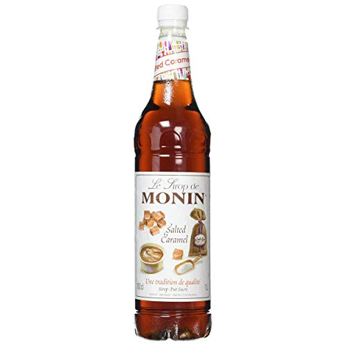 Monin Salted Caramel Syrup Syrups and Cordials from Monin